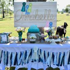 Annabelle's 9th Birthday Party - Equestrian Exhibit - Equestrian, Horses