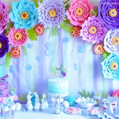 Mermaid Paradise Birthday Party - Mermaid Under the Sea Party