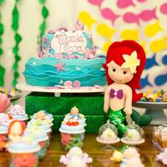 The Little Mermaid birthday party - THE LITTLE MERMAID