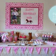 Zoë's Cowgirl Party - Cowgirl Party