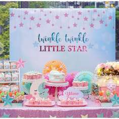 Little Star Baptism - Stars