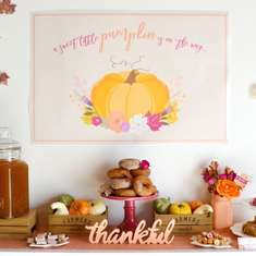 Little Pumpkin Fall Baby Shower - Little Pumpkin