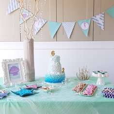 DIY Joint Mermaid Party - Mermaids