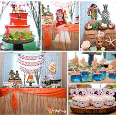 Moana Inspired Birthday - Moana