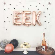 Eek! Halloween Bash - Spiders & Rose Gold