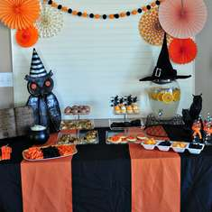 Witches Tea Party - Halloween