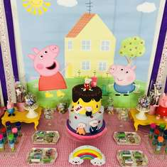 Peppa Pig birthday party - Peppa Pig