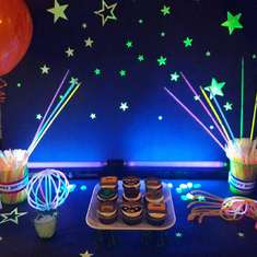 Guardians of the galaxy glow party - Teen glow party