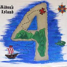 Aidan's Tick Tock Croc 4th Birthday - Tick Tock Crocodile and Captain Hook