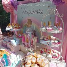 Marianna's Unicorn Baptism - Unicorns