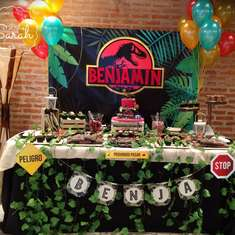 Benjasaurio Party - Jurassic World