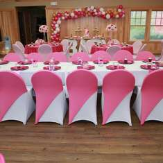 Jasmines pink baby shower - Shades of Pink