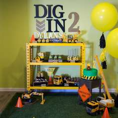 Dig in2 Dylan's Birthday  - Construction
