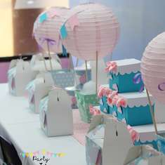 Hot Air Balloon birthday party - Hot Air Balloon
