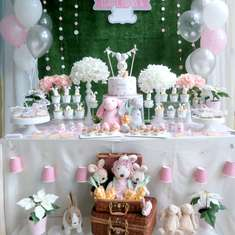 Rabbit themed birthday party - Rabbit Theme