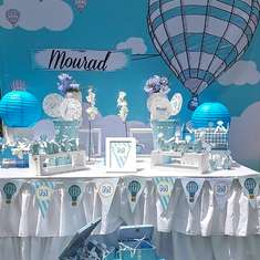 Mourad Baptism - Hot Air Balloon