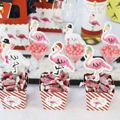 Christmas With The Flock - Tropical Christmas Party - Flamingle Bells Tropical Christmas