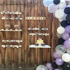 Donut and Dessert Wall - 10th Birthday