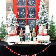 Rustic Hot Cocoa Bar - Hot Cocoa