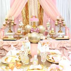 Haley's Pink and Gold Minnie Soiree - Minnie Mouse