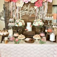 Baby Myah Boho Chic Baby Shower - Boho Chic