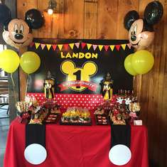 Landon's Mickey Mouse First Birthday Party - Mickey Mouse