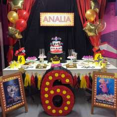 Analia's Sing birthday party - Sing
