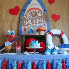 You Are Jaw-some Valentine's Day Party - None