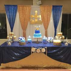 Prince 1st birthday party - A royal prince