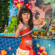 Dea's Moana Birthday Party - Moana