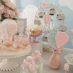 Hot Air Balloon Party Ideas for a Girl Birthday Catch My Party