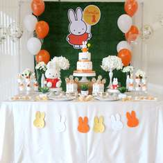 Miffy birthday party - Miffy Theme