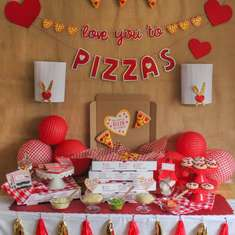 """Love You to Pizzas"" Valentine's Day Pizza Party - None"