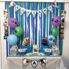 Puppy Dog Pals 1st Birthday - Puppy Dog Pals