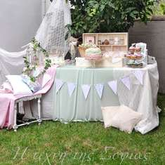 Pink&Mint Shabby Chic  Birthday Party  - Shabby chic