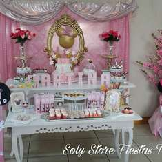 Minnie vintage birthday party - Minnie vintage