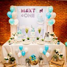 Elephant themed 1st birthday party - Elephant Theme