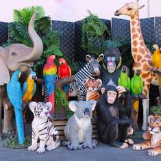 Jungle Safari birthday party - Wild ONE