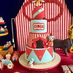 The Vintage Circus birthday party - Circus / Carnival