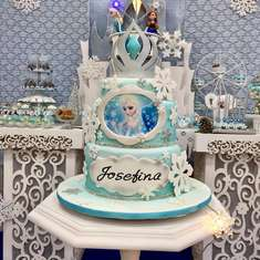 Blue Sky Frozen birthday party - Frozen (Disney)