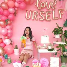 Love Yourself Ice Cream Party - Girls Gathering (grown up)