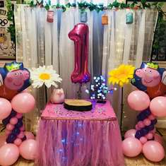 Peppa 1st Birthday party - None