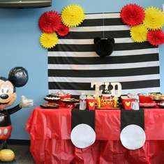 Lucas's 2nd Birthday Party - Mickey Mouse themed! - Mickey Mouse