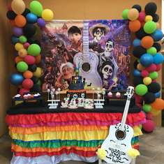 Jades COCO 7th birthday - Pixar COCO