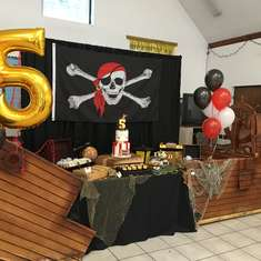 Ahoy Mate Caius is Turning 5! - Pirate Party