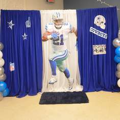 Aaron's 30th Birthday Party - Dallas Cowboys