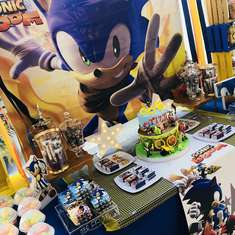 Sonic para Tizzi - Sonic the Hedgehog