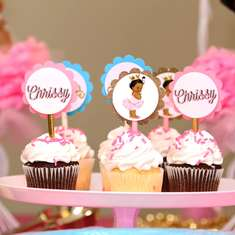 Vintage baby Princess Party - Vintage baby