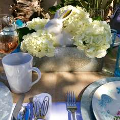 Easter Table - Spring pastels