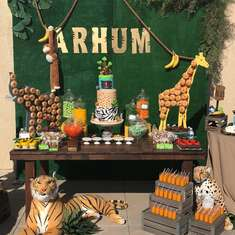 Arhum's Jungle birthday party - Jungle Safari